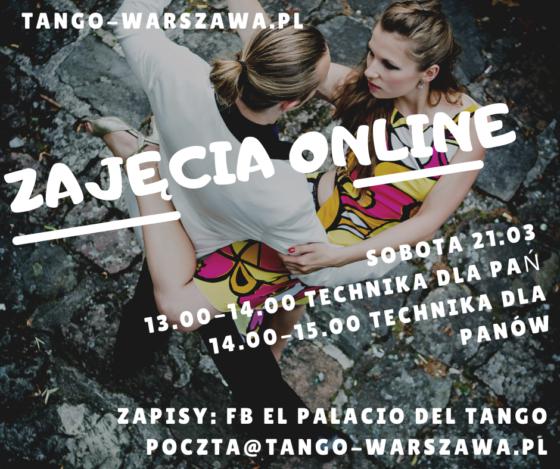 Tango zajęcia Online