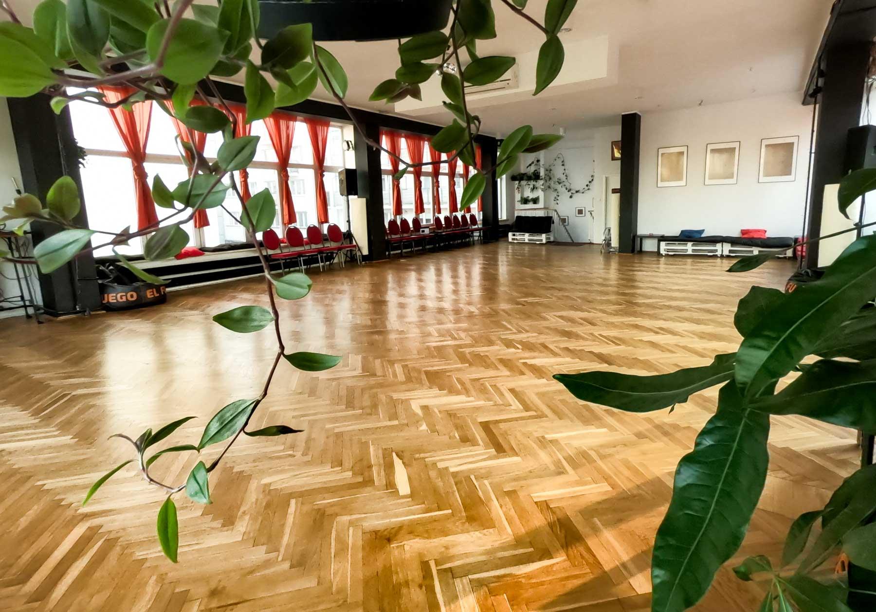 sal taneczna w centrum Warszawy Warsztaty Milonga